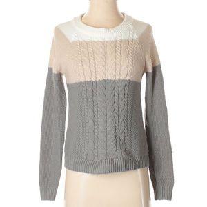 Sweaters - Merona Color Block Sweater